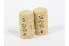 Винные пробки корковые 42х23,5 мм (Португалия агломирированная с лого PIE) 1500 шт