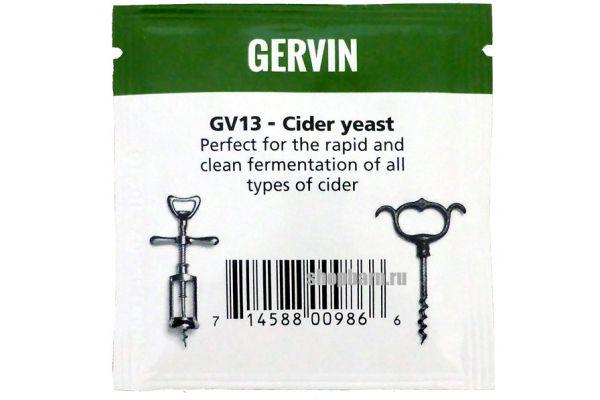 Дрожжи винные Gervin GV13 Cider