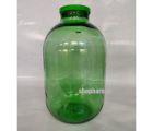 Банка стеклянная 15л с крышкой твист офф ТО100  (Зеленая)